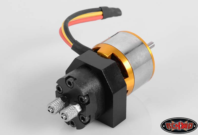 Mini hydraulic oil pump with brushless 40a motor esc ebay for Hydraulic pump motor combination