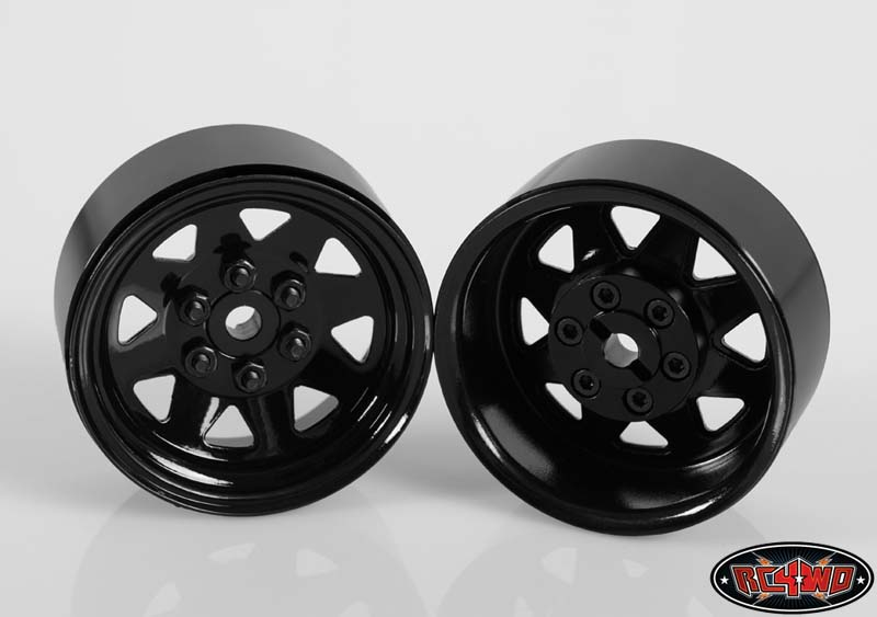 "RC4WD 6 Lug Wagon 1.9"" Steel Stamped Beadlock Wheels (4) Black, HOBBY SHOP SYDNEY - MELBOURNE ..."