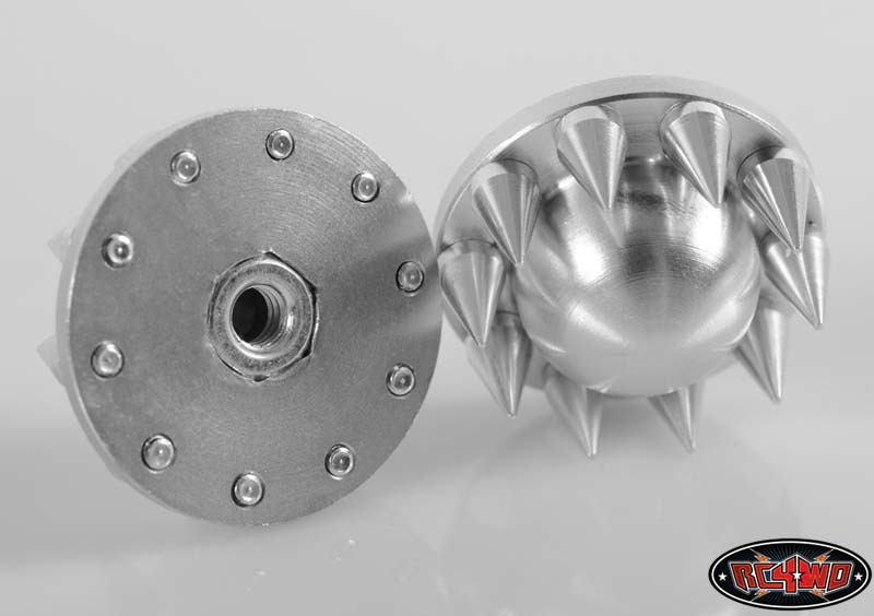 50 Off Front Choas Semi Truck Wheel W Spiked Cap