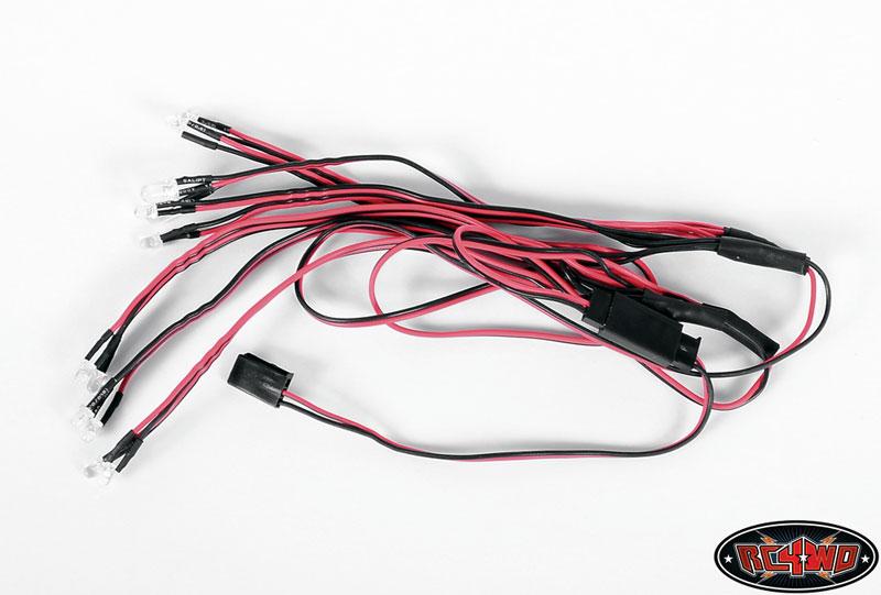 sc 1 st  RC4WD & LED Basic Lighting System For Mojave II 2/4 Door Body azcodes.com