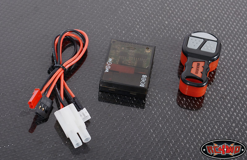 Rc4wd Warn 1  10 Wireless Remote  Receiver Winch Controller Set