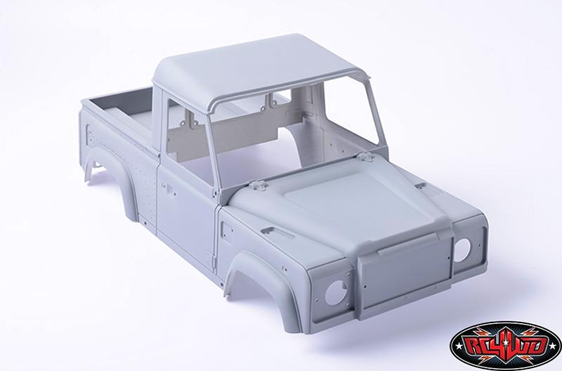 Defender D90 Pick Up et treuil Warn 9.5cti > RC4WD  Z-B0058-1