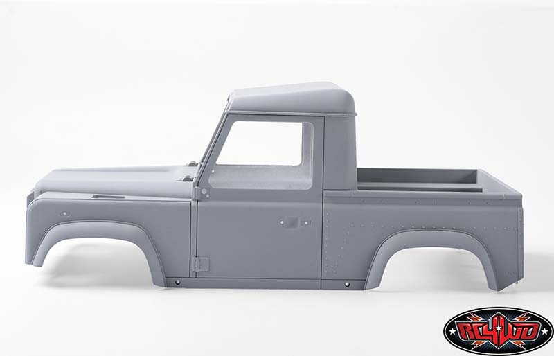 Defender D90 Pick Up et treuil Warn 9.5cti > RC4WD  Z-B0058-2