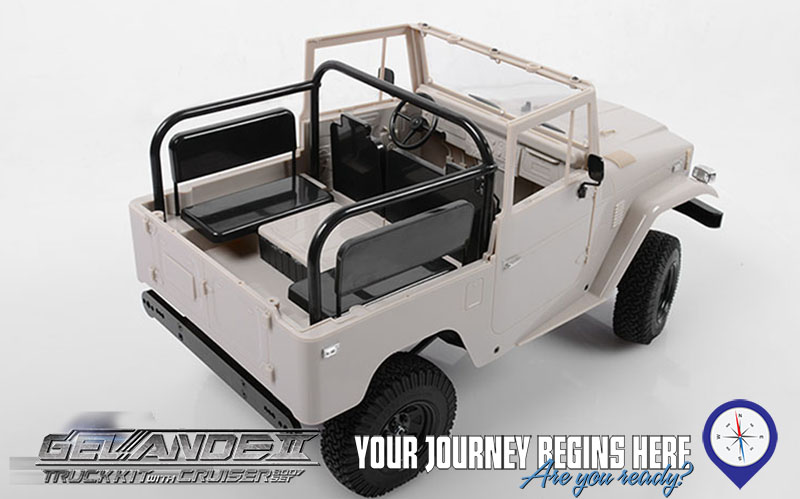 Rc4wd Gelande Ii Truck Kit W Cruiser Body Set