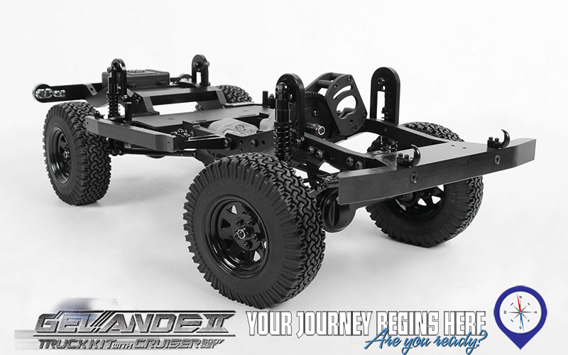 Gelande ii truck kit w cruiser body set