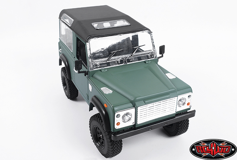 1 10 land rover defender d90 limited edition pre painted green body