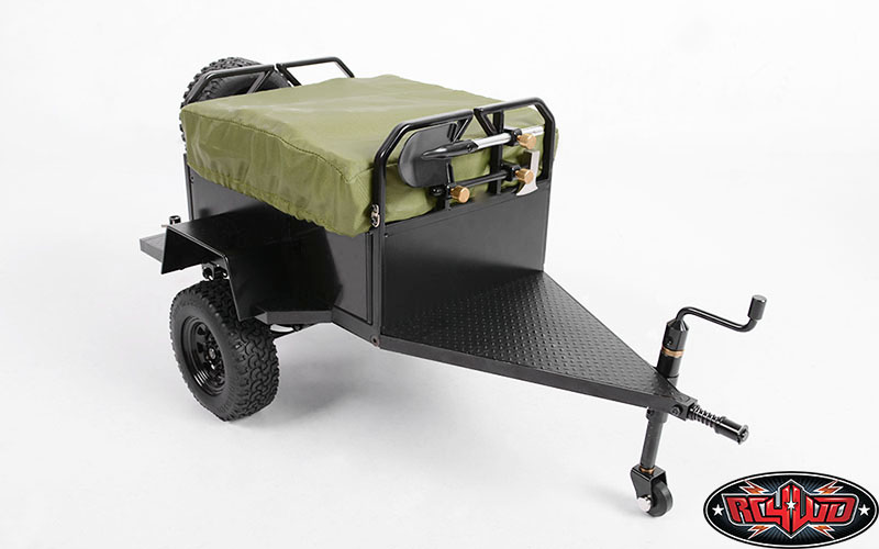 Rc4wd Bivouac 1 10 M O A B Camping Trailer W Tent