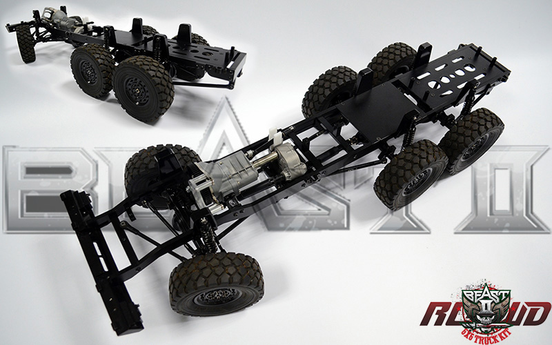 This is a new genuine rc4wd z k0052 1 12 beast ii 6x6 truck kit