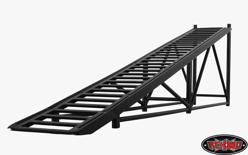 strong tough armor truck metal display ramp black rc4wd z. Black Bedroom Furniture Sets. Home Design Ideas