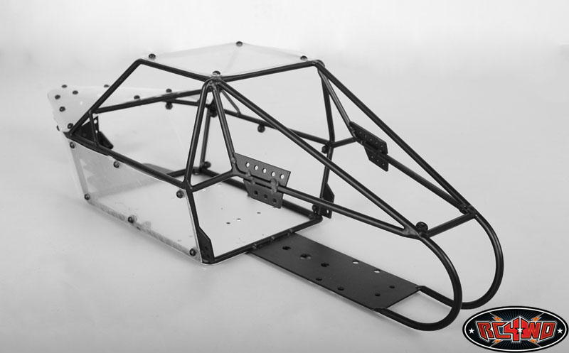 Desert Storm 2 Seater Dune Buggy Sand Rail Chassis (Black) - RC4WD ...