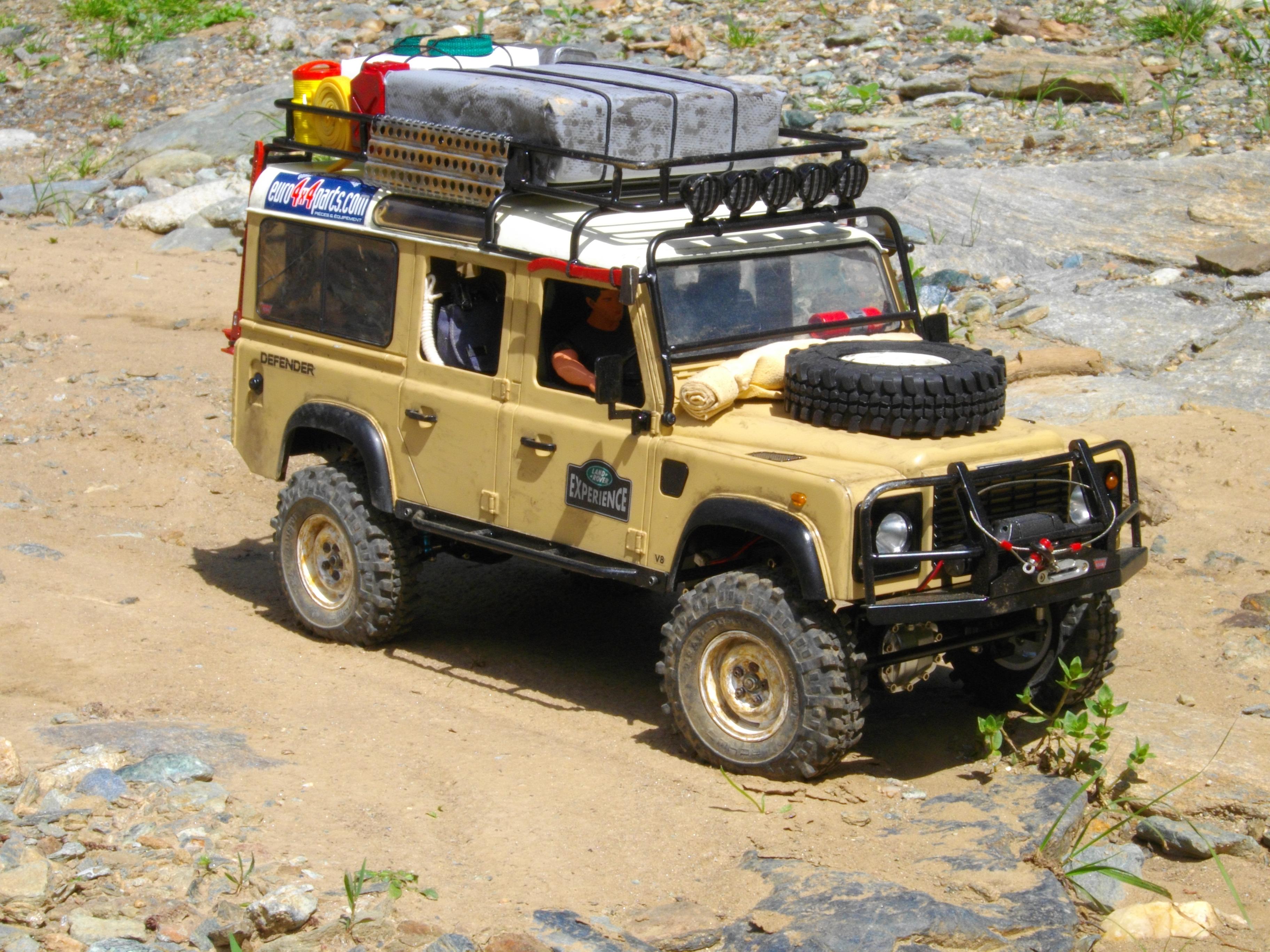 gel nde 1 10 scale defender d110 scaler 4x4 vehicle. Black Bedroom Furniture Sets. Home Design Ideas