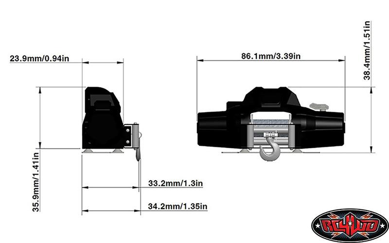 [nouveauté] RC4WD 1/8 Warn Zeon 10 Winch Z-E0069-9