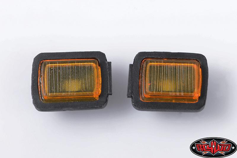 Turn Signal Light Set For Tamiya Cc01 Jeep Wrangler Detailed