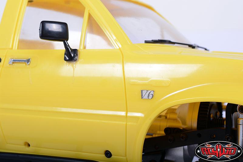 RC4WD Hero Desert Runner JDCustoms Truck Ford Badge Logo 1//10
