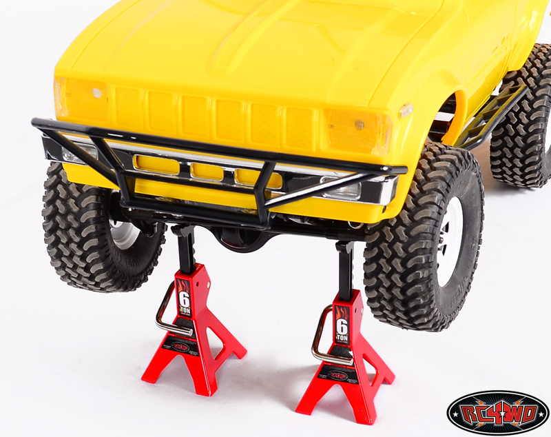 Chubby 6 T METALLO SCALA JACK STAND 2 10th RC CAMION GRANDE DISPLAY RC4WD Z-S0588