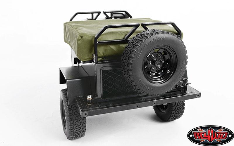RC4WD Bivouac 1/10 M O A B Camping Trailer w/Tent