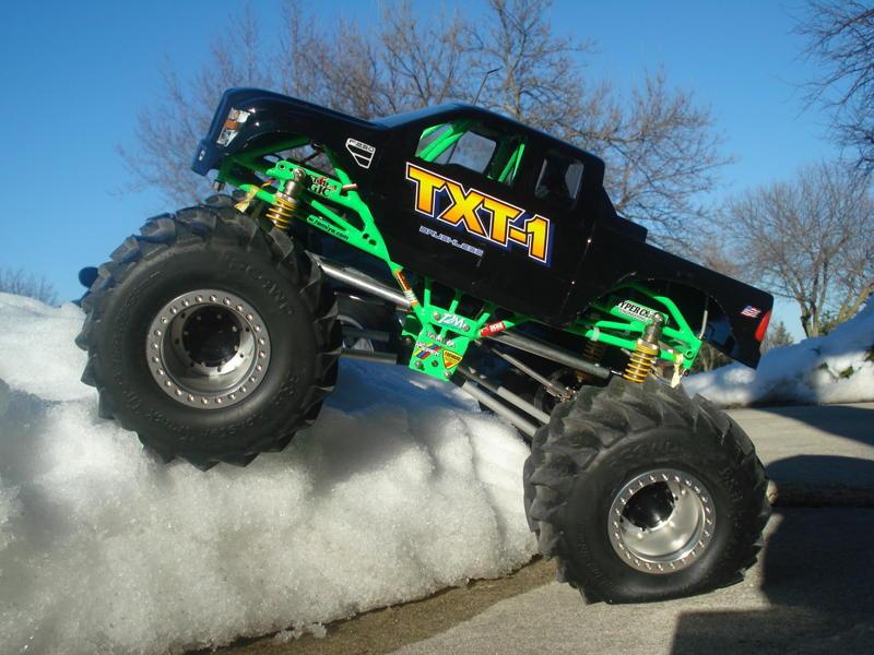 B H Monster Truck Clod Tires
