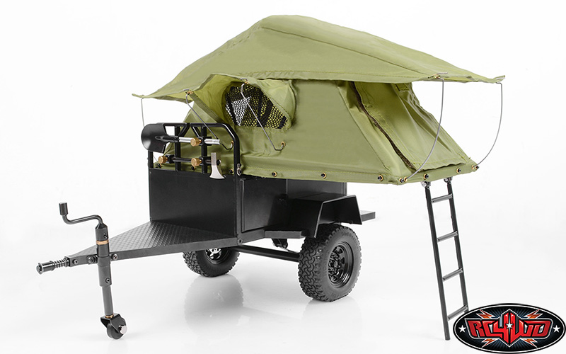 RC4WD Bivouac 1/10 M O A B Camping Trailer w/Tent
