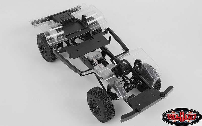 RC4WD 3mm Black Spacer with M3 Hole RC4ZS0806 Gelande 2 Cruiser Body Gelande 2